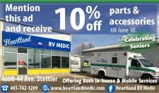 Heartland RV Medic Celebrating Seniors